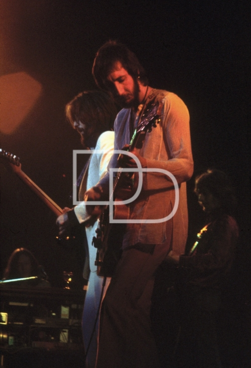 Col 1 Eric Clapton/Pete Townshend - The Rainbow Theatre '72