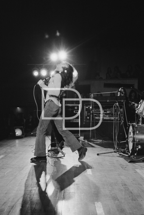 B/W 2 Paul Rodgers - Fairfield Halls Croydon '72