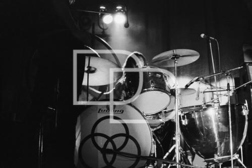 B/W 10 John Bonham - Cardiff '72